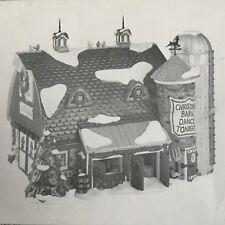 Dept 56 Snow Village® Christmas Barn Dance - Brand New - Still In Plastic