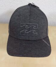 fcea31c4767 Billabong Surf All Day men s stretch baseball cap heather gray S M NWT