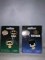 Funko Pop DC Comics Universe Batman & Robin Pin Set-New