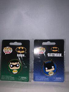 Funko Pop DC Comics Universe Batman & Robin Pin Set-New
