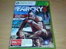 FARCRY 3 XBOX 360 GAME COMPLETE MA15+