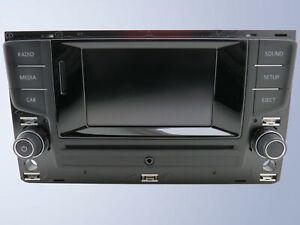 "Radio Composition Couleur 5 "" DAB+ CD SD VW Golf 7 VII Passat B8 Tiguan 2 AD1"