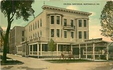 Indiana, IN, Martinsville, Colonial Sanitarium 1910's Postcard