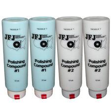 More details for 4 x jfj easy pro polishing compound solution #1 blue & #2 white 12oz