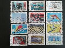 COLLECTION COMPLETE 12 TIMBRES DE LA FETE DU TIMBRE 2013 FRANCE DUBREUIL