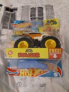 Bowser Hot Wheels Monster Truck Mario Bros. Crushable car 16/75