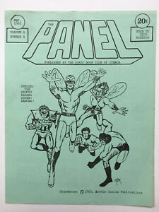 The Panel Comic Book Club Newsletter 1982 Archie Comics Superheroes The Shield