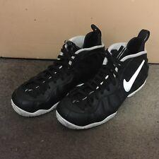 Nike Air Foamposite Pro Dr Doom 2016 Black White 624041-006 Size 9.5 JORDAN