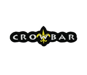 Crowbar Patch Sludge Metal Band Logo