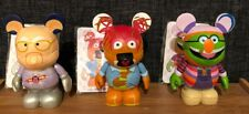 """Disney Parks 3"""" Vinylmation - Muppets Series 2 - Lot of 3 With Cards"""