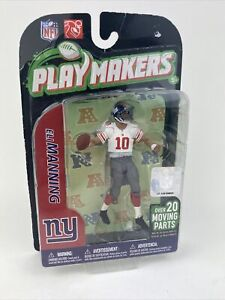 2011 Mcfarlane Playmakers Series 2 Eli Manning New York Giants White Jersey
