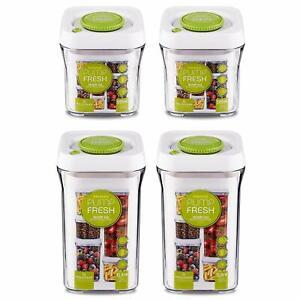 Grunwerg - Pioneer Pump Fresh Vacuum Sealed Food Storage Container / Jar