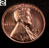 1937-S Lincoln Wheat Penny Cent // Gem BU (red) // *Fresh OBW Coin* // 1 Coin