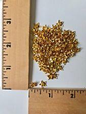 100 Gold Star Eyelets   -  NEW