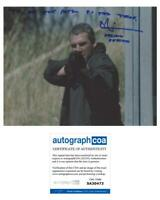 Heat Tom Sizemore Autographed Signed 11x14 Photo ACOA