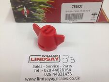 Genuine Hardi Crop Sprayer Nozzle Cap Red 04 F110