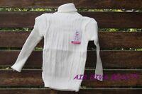 Girl Boy kids Warm White winter Tops Knitwear Knit sweater Pullover Jumper 1yr