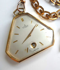 Montre Gousset plaqué or Lanco Suisse Pocket Watch