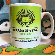 WRAS's 25th Year Celebration Mug - East Sussex WRAS Wildlife Rescue