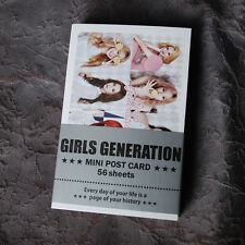 K-POP SNSD Girls' Generation  Mini Post Card 56pcs KPOP star