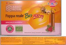 Gelée Royale Bio pour Enfants Biologique avec Goût de Pomme et Fraise 10 Petits