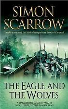 The Eagle and the Wolves (Roman Legion 4), By Simon Scarrow,in Used but Acceptab