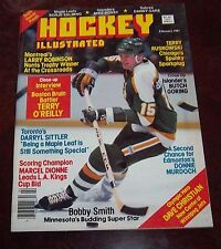 Hockey Illustrated February 1981 Bobby Smith / Borje Salming color poster
