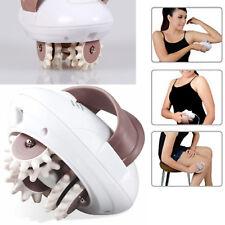 3D Electric Massager Roller Fat Burner Anti-cellulite Massaging Leg Slim UK Plug