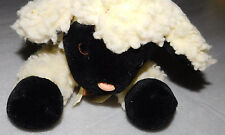 Peepah Pals Lamb Sheep Stuffed Animal Fuzzy White Vintage Toy Copper Bell 15 in.