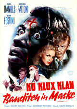 Ku Klux Klan - Banditen in Maske ORIGINAL KINOPLAKAT DIN A1 GEROLLT WILLIAMS-ART