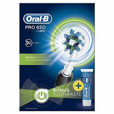 Oral-B Pro-Expert Deep Cleen 650 plague Remover Tooth Brush Paste 2 Year Waranty