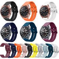 Sport Silikon Armband für Samsung Galaxy Watch 3 41mm/45mm Ersatz Uhrenarmband