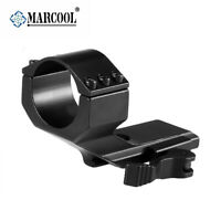 Marcool 30mm Tube Rifle Scope Quick Release Cantilever Ring Mount w/ 20mm Rail