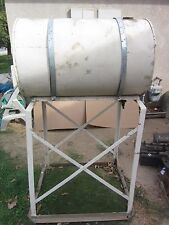 """55 Gallon Fuel Storage Tank w 37"""" Height Stand & Indicator, Used"""