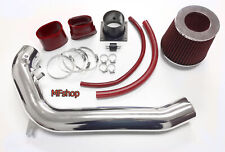RED For 1991-1994 Nissan 240SX S13 Silvia 2.4L L4 Air Intake System Kit