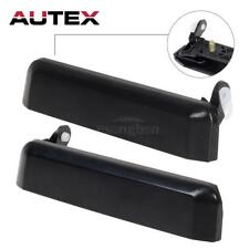 Pair Outside Black Front Left & Right Door Handle For NISSAN PATHFINDER 87-95