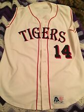 University of West Alabama Tigers Baseball Game Worn Jersey Vintage 42