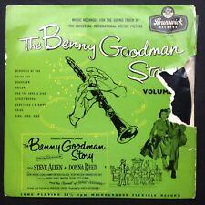 THE BENNY GOODMAN STORY [Vol. 2] Film Soundtrack OST LP Steve Allen Donna Reed