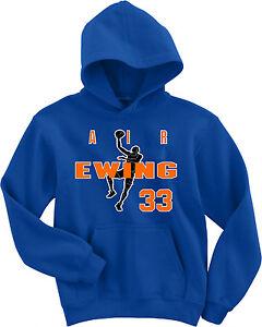 "Patrick Ewing New York Knicks ""Air Ewing"" jersey SWEATSHIRT HOODIE"