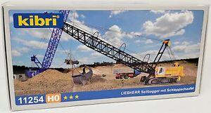 KIBRI/Marklin NEW #11254 HO 1/87 scale KIT Heavy Duty Liebherr Dragline Crane