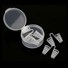 4 Pcs Silicone Anti Snore Nasal Dilators Apnea Aid Device Stop Snoring Nose Clip