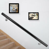 Aluminum Modern Handrail for Stairs 3ft Length Stair Handrail Aluminum