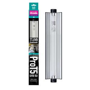 Arcadia ShadeDweller Pro T5 Kit - 7% UVB Lamp, 8w, Reptile Light, Crested Gecko