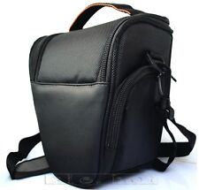 SLR DSLR Camera Shoulder Carry Case Bag BLACK For Sony Nikon canon Panasonic