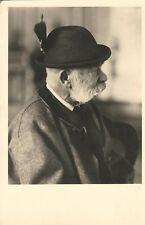 Foto Postkarte Kaiser Franz Josef I von Österreich in der Tracht