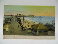 Vintage Early 1900's Postcard - Boardwalk, Wildwood, NJ