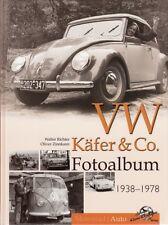 Richter: VW Käfer & Co. Fotoalbum 1938-78 (Fotos/Bildband/Buch/Volkswagen/Typen)