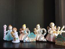 Lot 4 Birthday Girl- Enesco And Joseph Originals Age Figurines-Various #1, 2 & 4