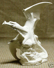 Ceramic Bisque Small Flying Dragon Doc Holliday 1970 U-Paint Ready To Paint