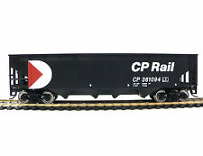 HO Scale Model Railroad Trains Layout Walthers CP Rail Offset Quad Hopper Car